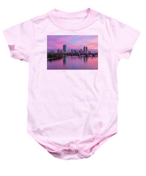 Boston Sunset Baby Onesie