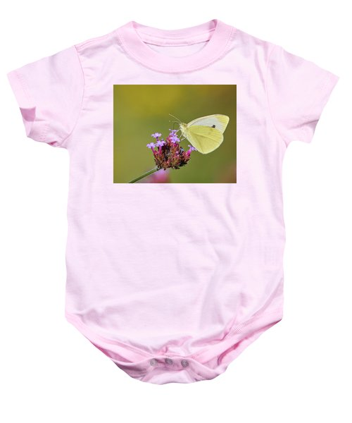 Cabbage White Butterfly Baby Onesie