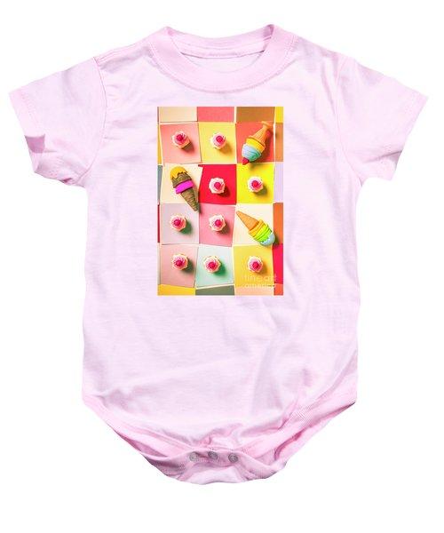 Candy Calendar Baby Onesie