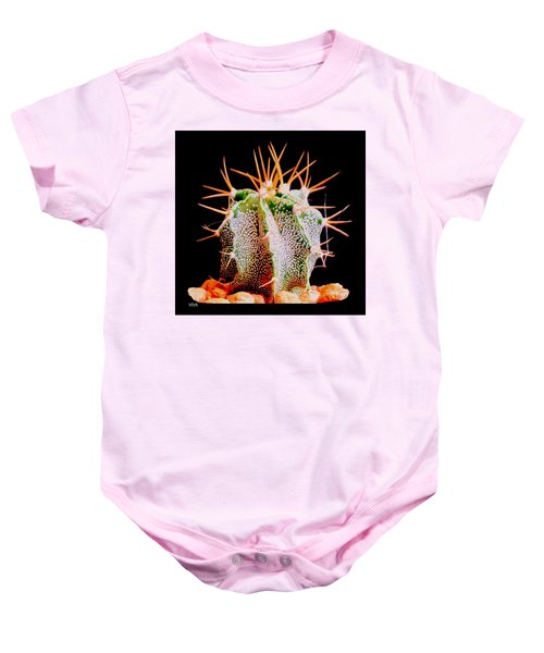 Crazy  Cactus Baby Onesie