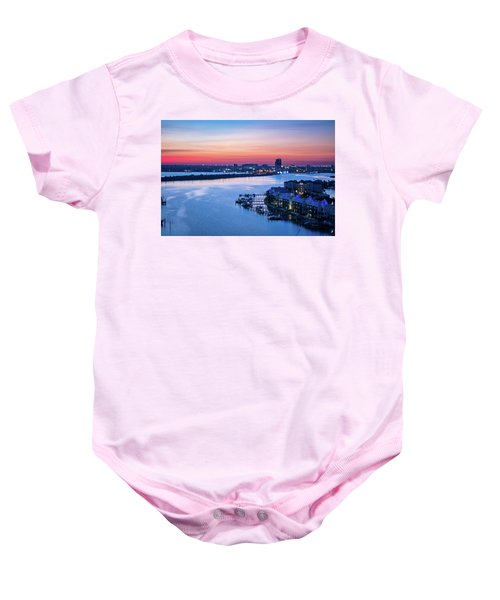 Firstlight Over Clearwater Baby Onesie