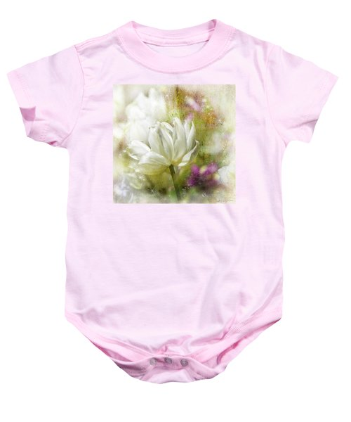 Floral Dust Baby Onesie