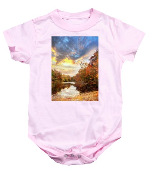 For The Love Of Autumn Baby Onesie