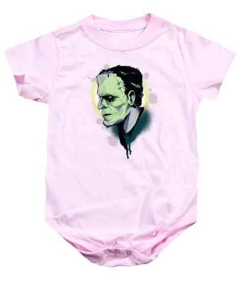 Frankenskull Baby Onesie