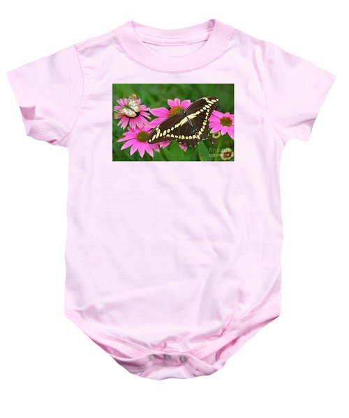 Giant Swallowtail Papilo Cresphontes Baby Onesie
