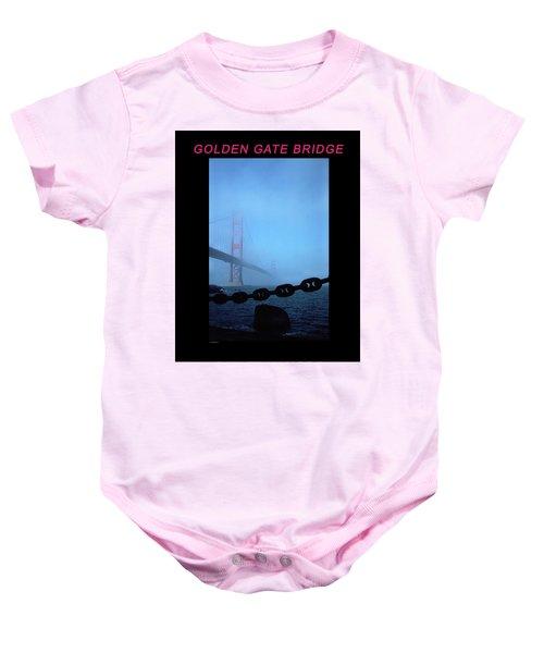Golden Gate Fog - 2 Baby Onesie