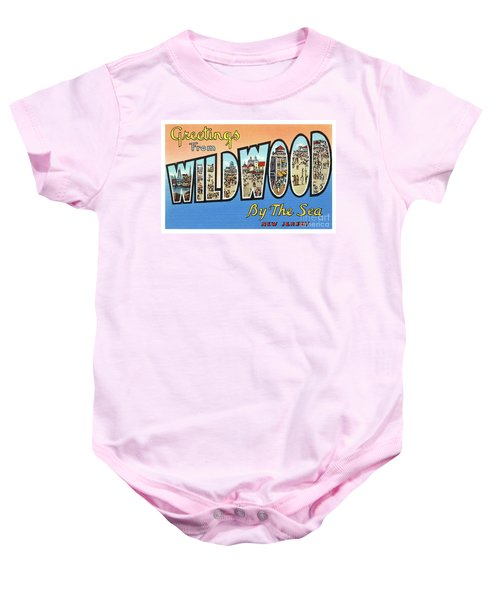 Wildwood Greetings - Version 4 Baby Onesie