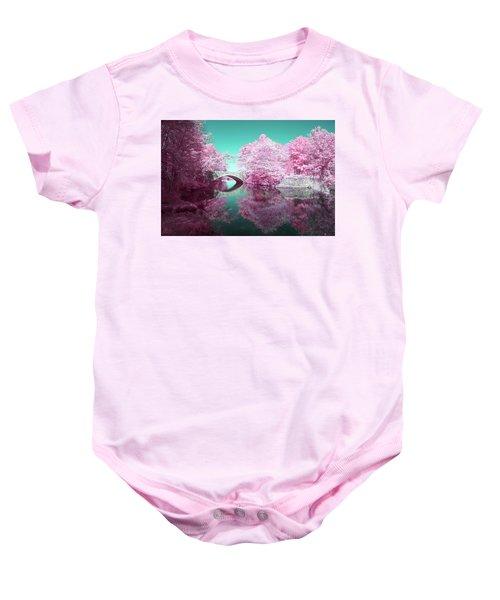 Infrared Bridge Baby Onesie
