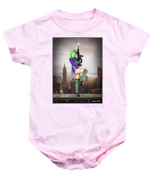 Joker Is Wild Baby Onesie