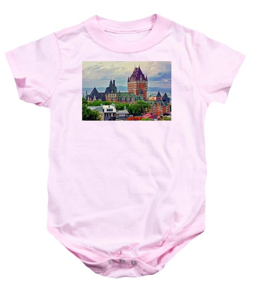 Le Chateau Frontenac Baby Onesie