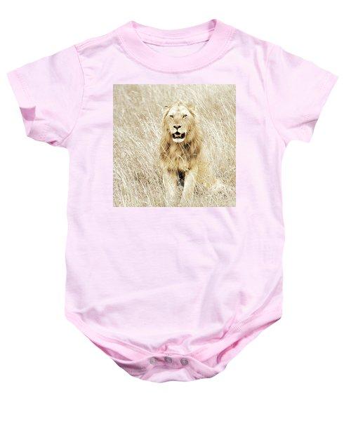Lion In Kenya Baby Onesie