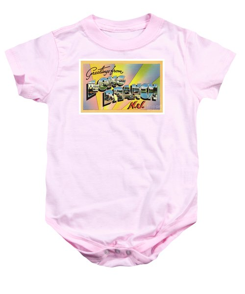 Long Branch Greetings Baby Onesie