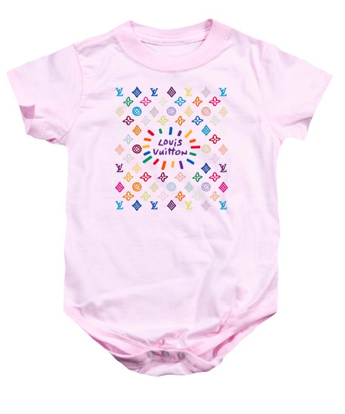 Louis Vuitton Monogram-9 Baby Onesie