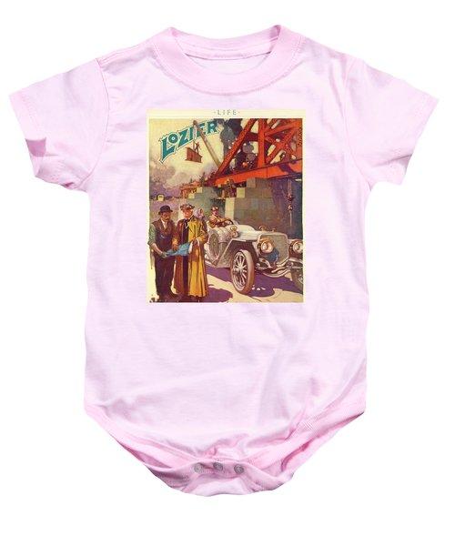 Lozier Advertisement Baby Onesie