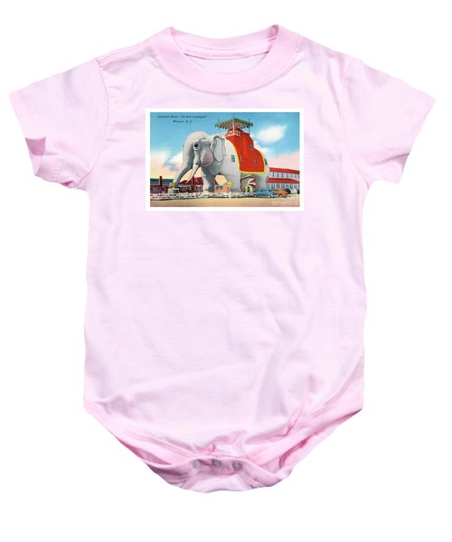 Lucy The Elephant Baby Onesie