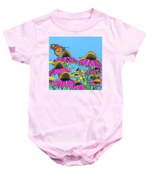 Magnificant Monarch Baby Onesie