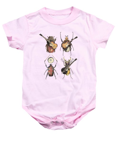Meet The Beetles Baby Onesie