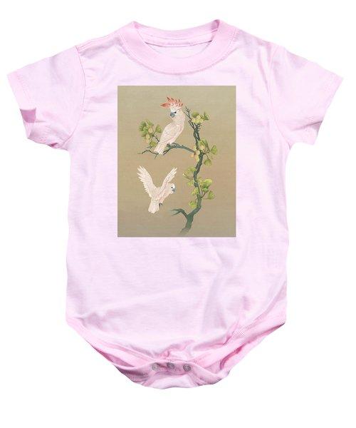 Moluccan Cockatoos  Baby Onesie