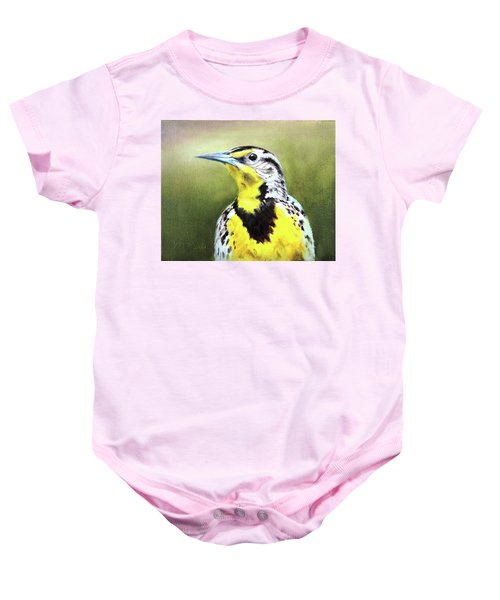 Montana Meadowlark Baby Onesie