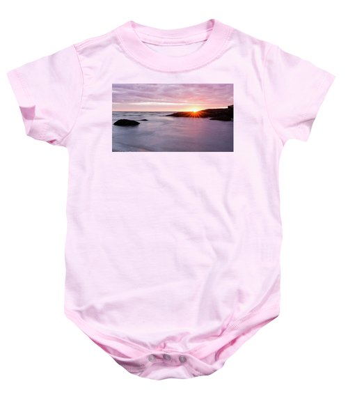 Morning Sun Good Harbor Baby Onesie