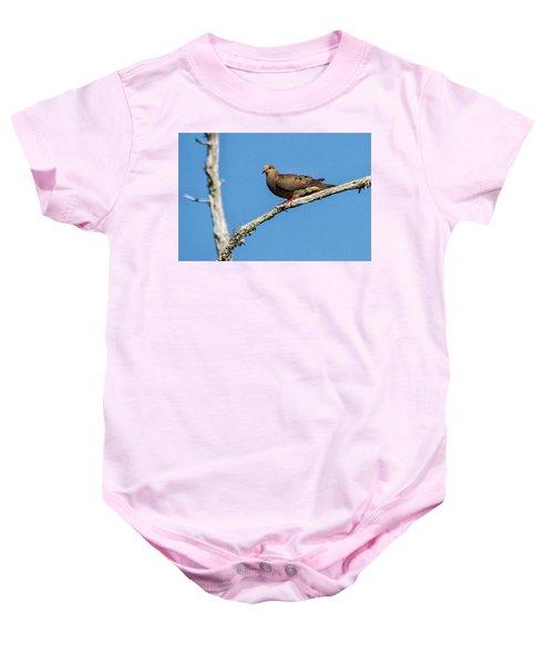 Mourning Dove Baby Onesie
