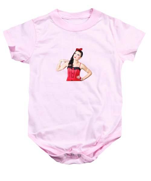 Pin Up Pinned Up Baby Onesie