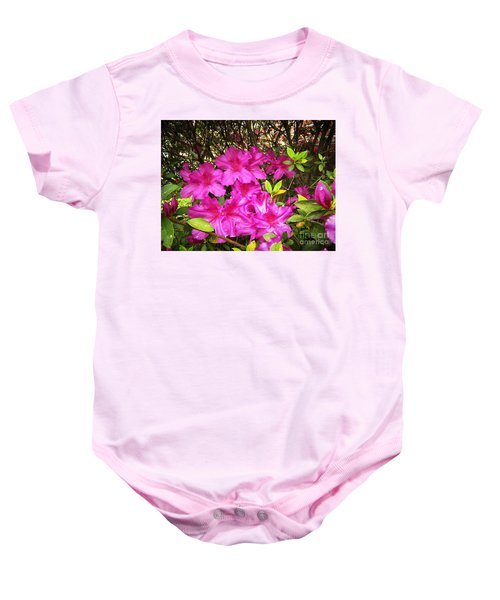Pink Outside Baby Onesie