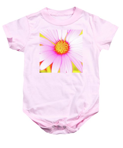 Pop Art Osteospermum 3 Baby Onesie