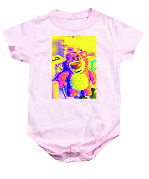 Pop Art Preschool  Baby Onesie