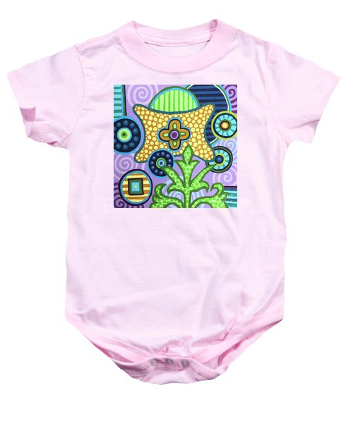 Pop Botanical 2 Baby Onesie