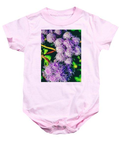 Purple Fur Baby Onesie