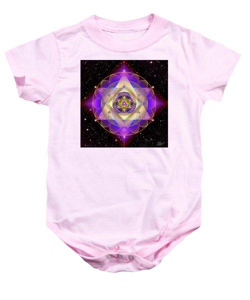 Sacred Geometry 741 Baby Onesie