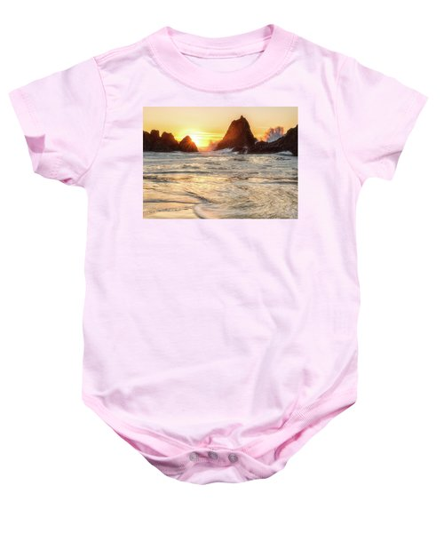 Seal Rock  Baby Onesie