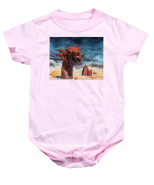 Baby Onesie featuring the photograph Serpent by Mary Hone
