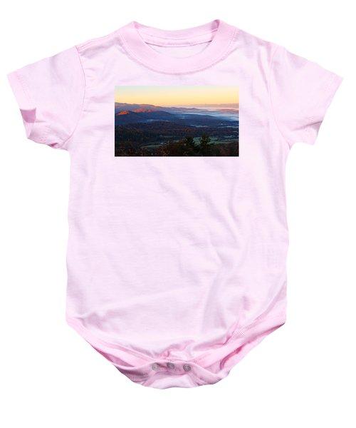 Shenandoah Mountains Baby Onesie