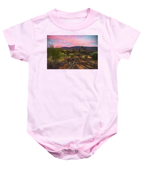 Southwest Day's End Baby Onesie