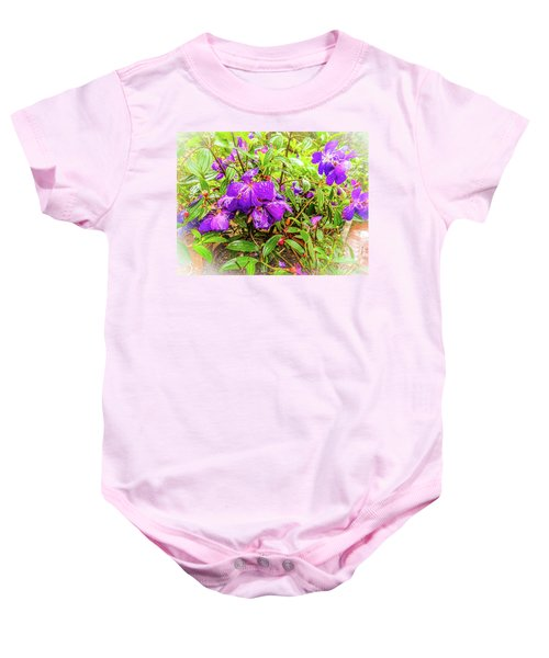 Spring Blossoms2 Baby Onesie