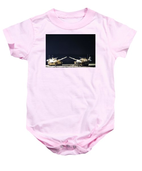 Stars Can Only Shine In Darkness Baby Onesie