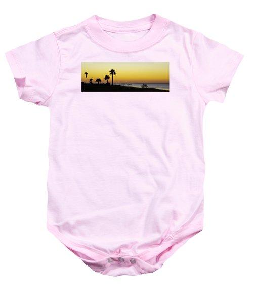 Sunset On Copano Bay, Texas Baby Onesie