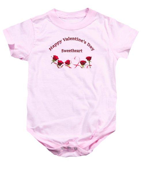 Sweetheart Rose Baby Onesie