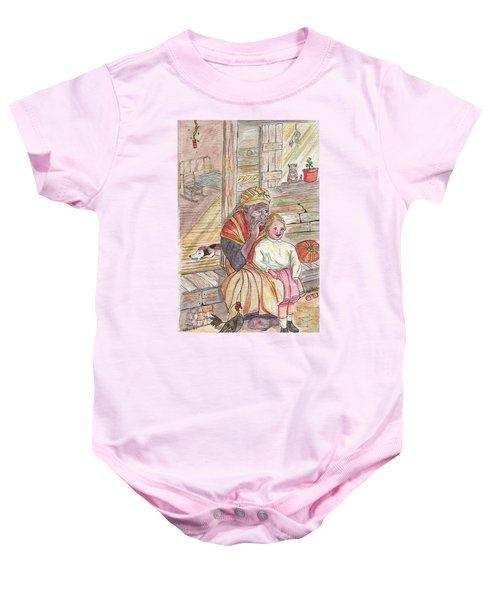 Taking Care Of The Owners Little Daughter Baby Onesie