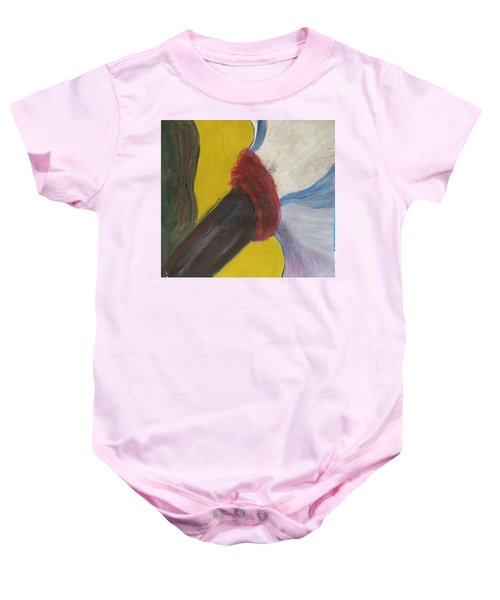 The Wind Blows And Things Fall Baby Onesie