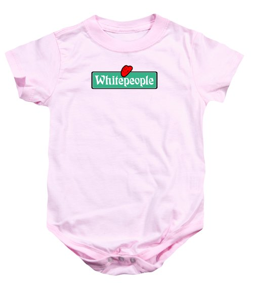 White People Baby Onesie
