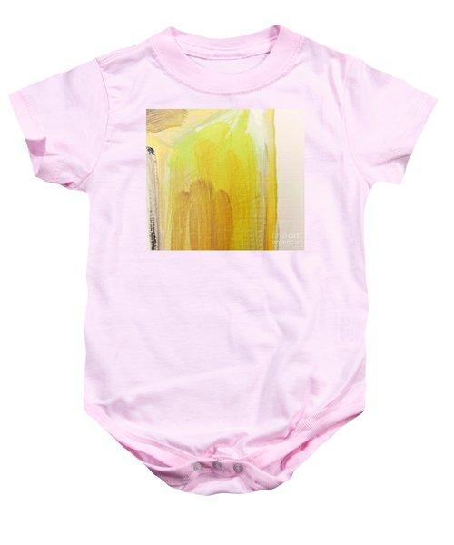 Yellow #3 Baby Onesie
