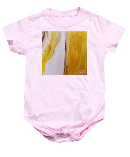 Yellow #5 Baby Onesie