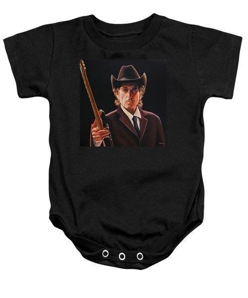 Bob Dylan 2 Baby Onesie by Paul Meijering