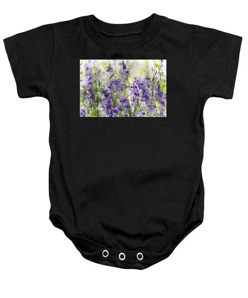 Fields Of Lavender  Baby Onesie