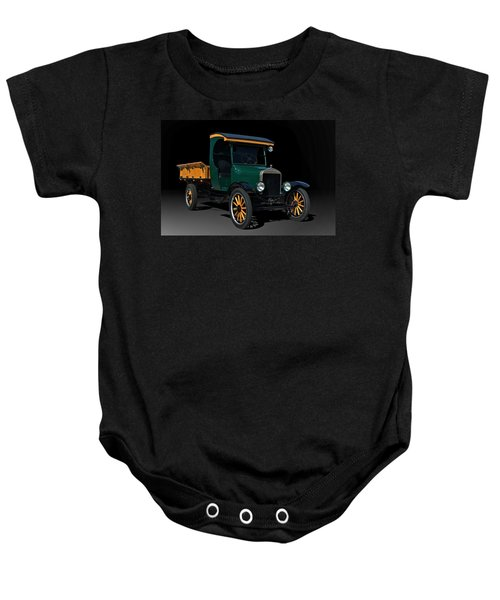 1923 Ford Model Tt One Ton Truck Baby Onesie