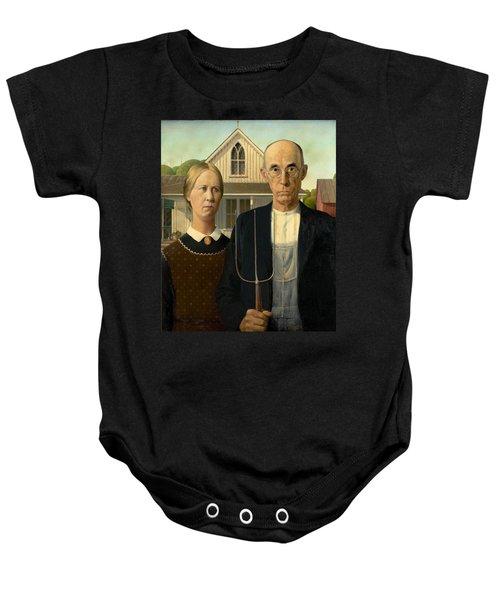 American Gothic Baby Onesie