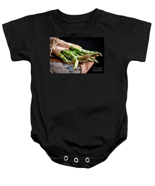 Asparagus Baby Onesie by Kati Molin